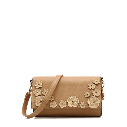 MKF Collection Allie Floral Applique Crossbody Bag by Mia K.