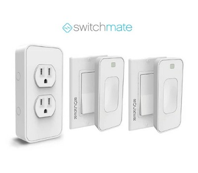 Switchmate Smart Light and Outlet Automation Kit with Motion Detection Was: $49.99 Now: $24.99.