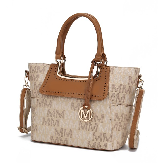 Mia K. Collection Dia Signature Satchel Bag