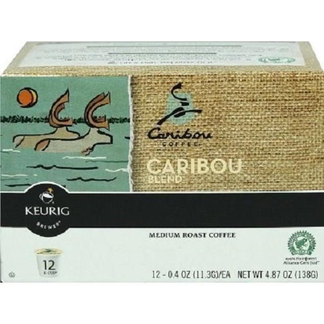 Caribou Coffee Caribou Blend Keurig K-Cups 12 Cup Box