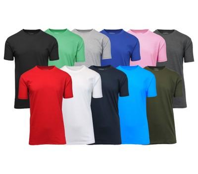 Men's 5-Pack Assorted Short Sleeve Crew Neck Tee (S-5XL) Was: $89.99 Now: $25.99.
