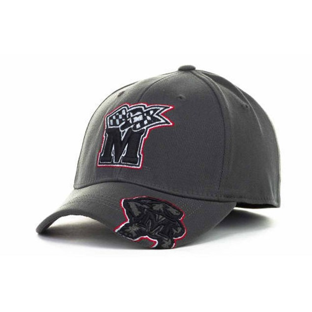 "Maryland Terrapins NCAA TOW ""All Access Charcoal"" Stretch Fitted Hat"