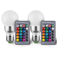 4-Pack Multi-Pack Massimo RGB Round Bulbs