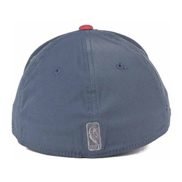 """Miami Heat NBA Adidas """"Gray Swat"""" Stretch Fitted Hat"""