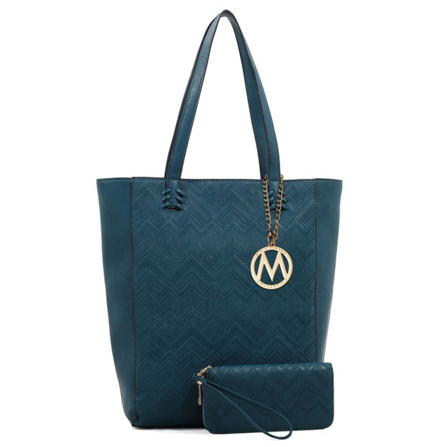 MKF Collection Mary Poppins Tote & Wallet Set by Mia K