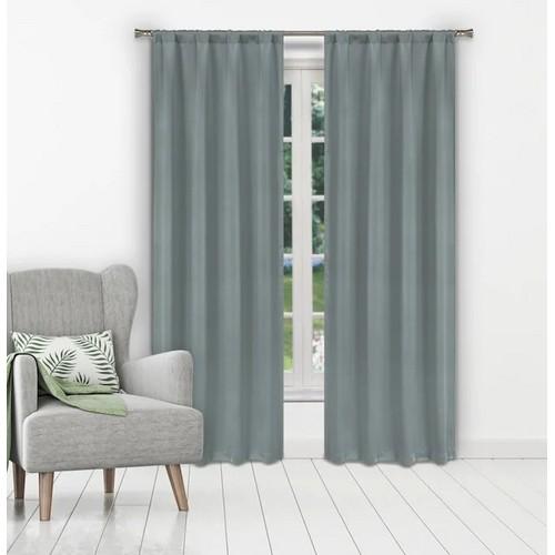 "Ira 84"" Solid Window Curtain Set - Multiple Colors"