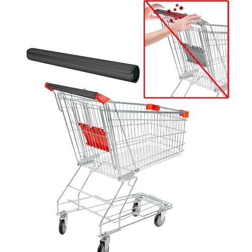 Shopping Cart Handle Wrap- Reusable Neoprene Wrap w/ Velcro Connectors
