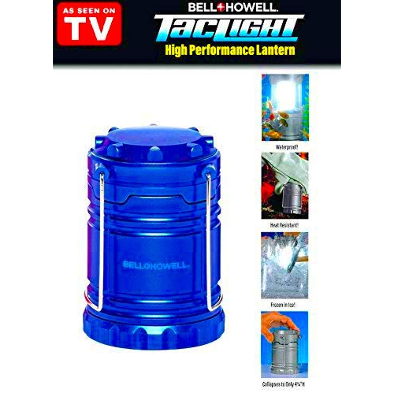Bell + Howell TacLight Lantern Portable LED, Collapsible