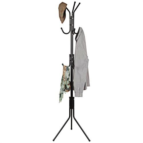 Metal 9-Hook Coat Rack
