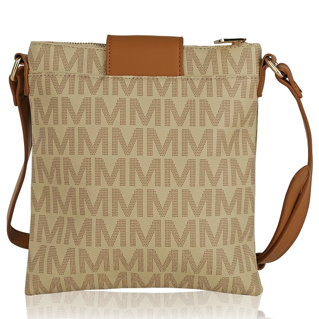 MKF Collection Wrigley M Signature Cross Body  by Mia K.