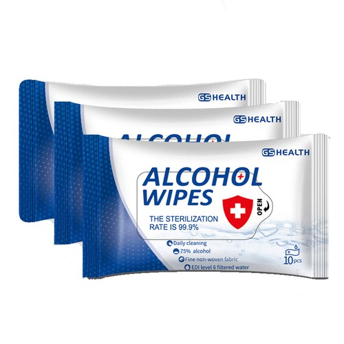 75% Isopropyl Alcohol Cleaning Wipes