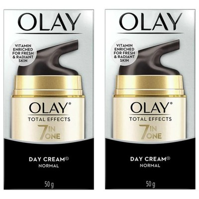2-Pack Olay Total Effects 7 in One Day Cream, Normal, 1.7 oz