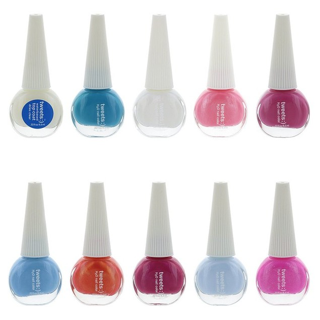 Tweets Finger Nail Polish Lacquer Collection- 2 Pack Size Options