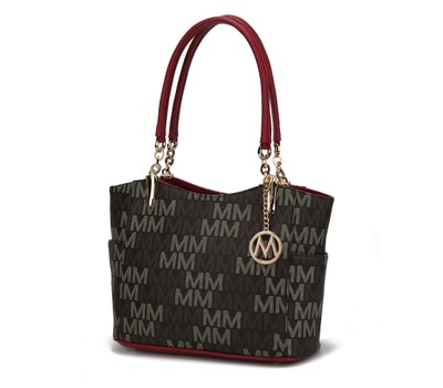 MKF Collection Shaylee M Signature Tote Bag by Mia K. Was: $249 Now: $36.99.