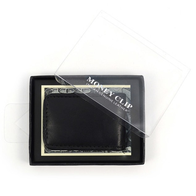 Genuine Leather Money Clip