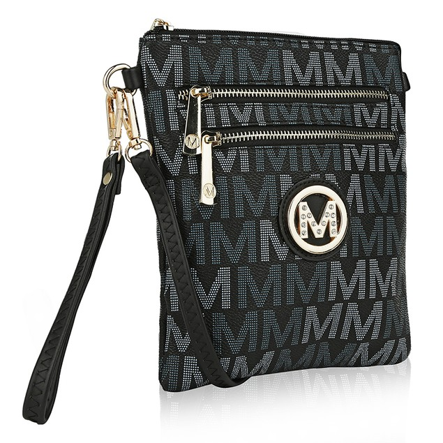 MKF Collection Valerie Milan M Signature Cross-body by Mia K