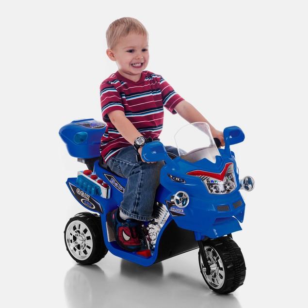 Lil' Rider 3 Wheel Battery Powered Bike - Blue