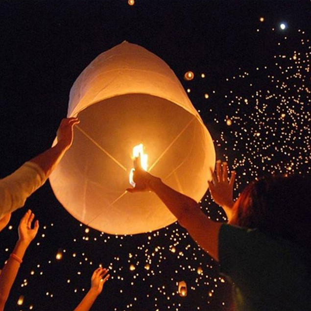 Original Flame Retardant Sky Lanterns