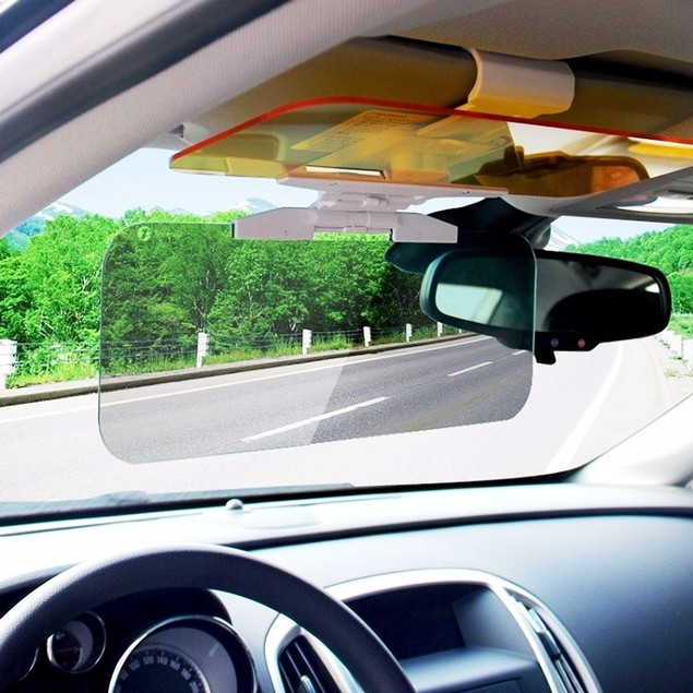 Zone Tech Anti Glare Day Night Sun Tinted Visor