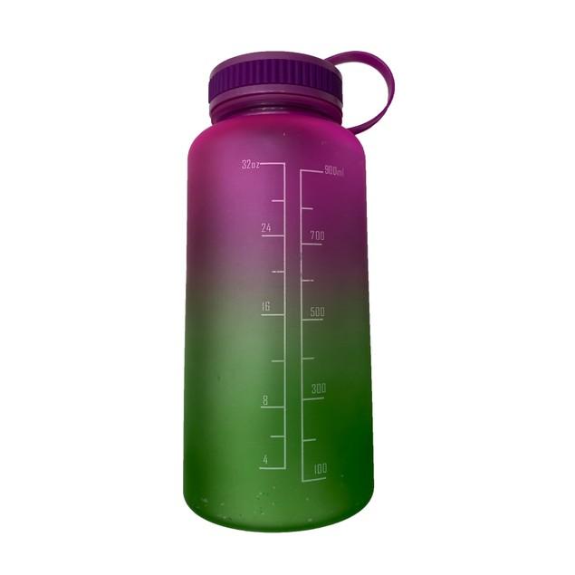 3-Pack Assorted Motivational Water Bottle w/ Twist Cap Design - 34oz