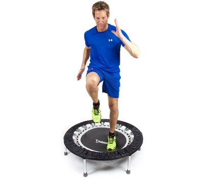 Maximus Pro USA Home Gym Rebounder Mini Trampoline with Handle Bar Was: $255.99 Now: $127.99.
