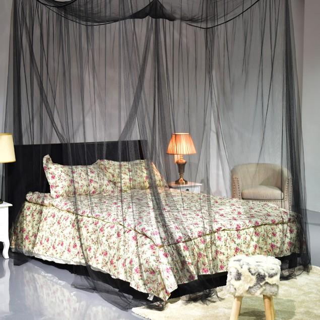 4 Corner Post Bed Canopy Mosquito Net Full/Queen/King