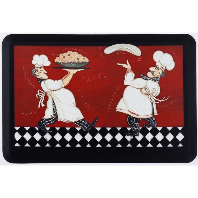 """Oversized Chef Series 24""""x36"""" Antifatigue Kitchen Mats"""