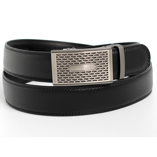 MKF Collection Dean Genuine Leather Mens Belt by Mia K.