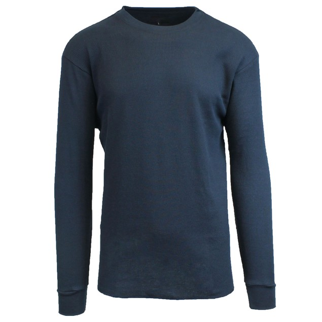 Men's Long-Sleeve Waffle-Knit Thermal Shirt (M-6X)
