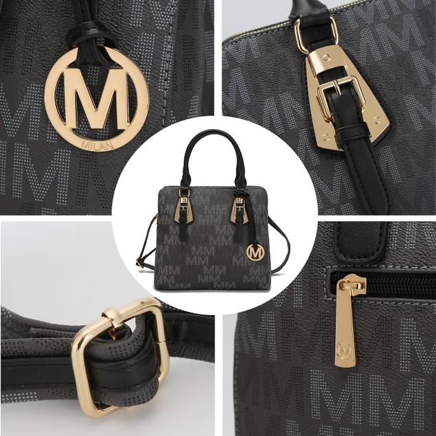 MKF Collection Prague Milan M Signature Handbag by Mia K.