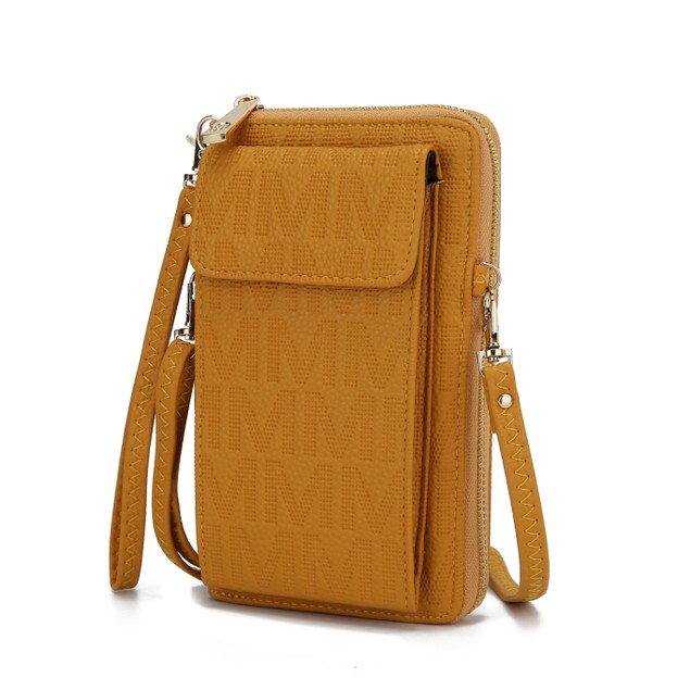 MKF Collection Caddy Phone Wallet Crossbody Bag by Mia K.