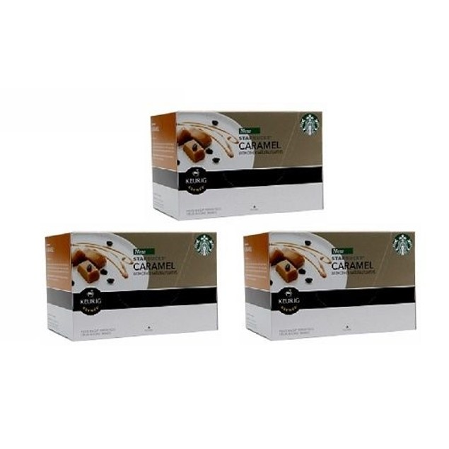 Starbucks Caramel Keurig K-Cups 3 Pack