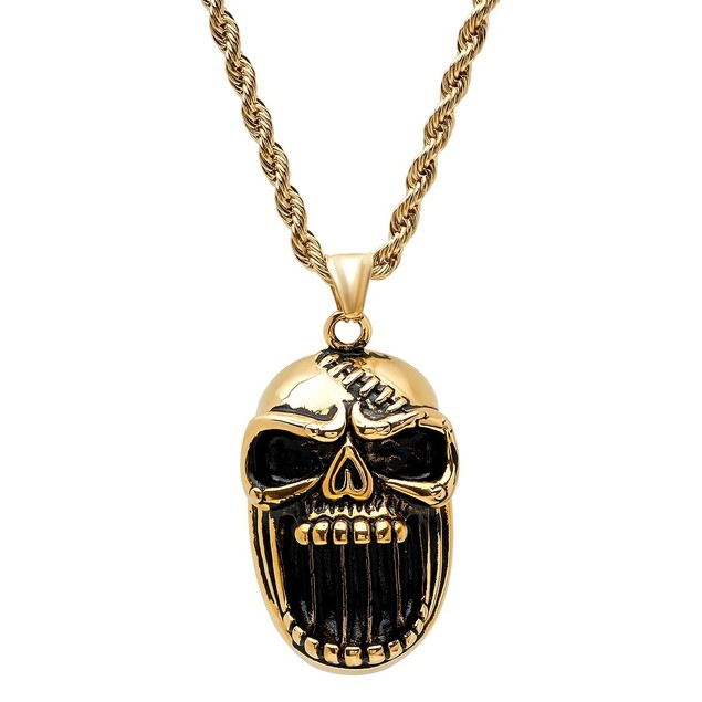 Ghoul Skull Pendant/ Necklace