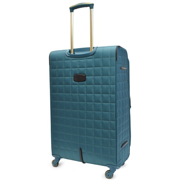Tahari New York Chelsea Quilt Collection 4 pc Soft Sided Luggage Set