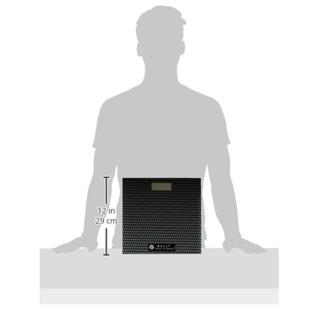 Bally Total Fitness Digital Bathroom Scale