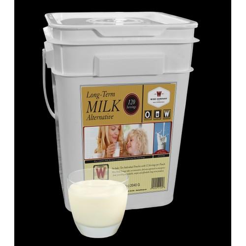 Wise Foods - 120 Serving Milk Bucket