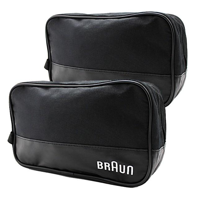 2-PACK Braun Men's Black Travel Bags