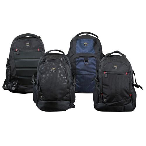 Pro Series Hi-Tech Padded Laptop Backpacks (Multiple Designs)