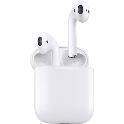 Apple Airpods MRXJ2AM/A with WIRELESS Charging Case (2nd Gen Latest Model)