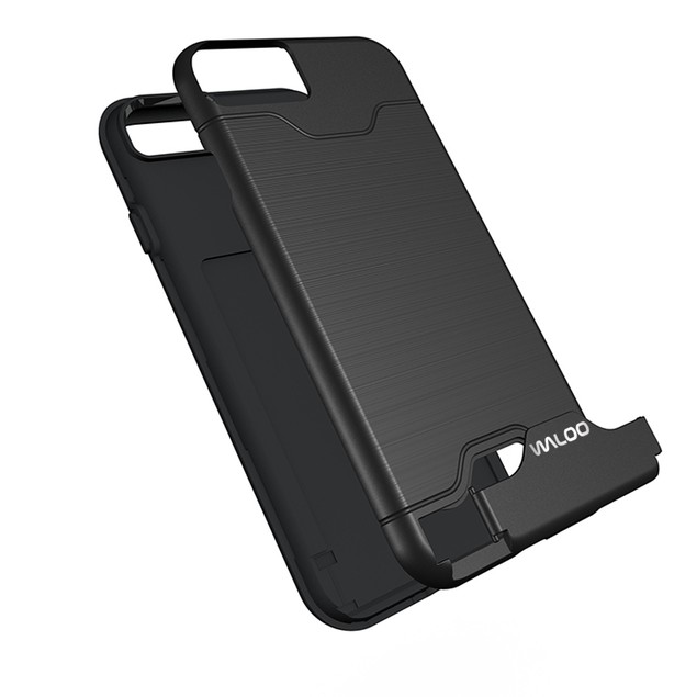 Waloo Kickstand Credit Card Case for All iPhones
