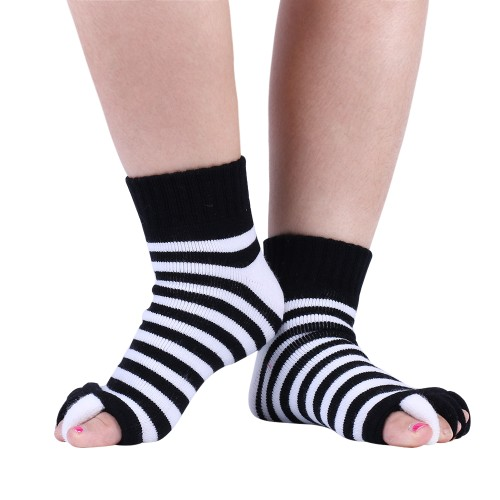 3-Pairs Unisex Reflexology Massage Socks - Available in 4 Colors