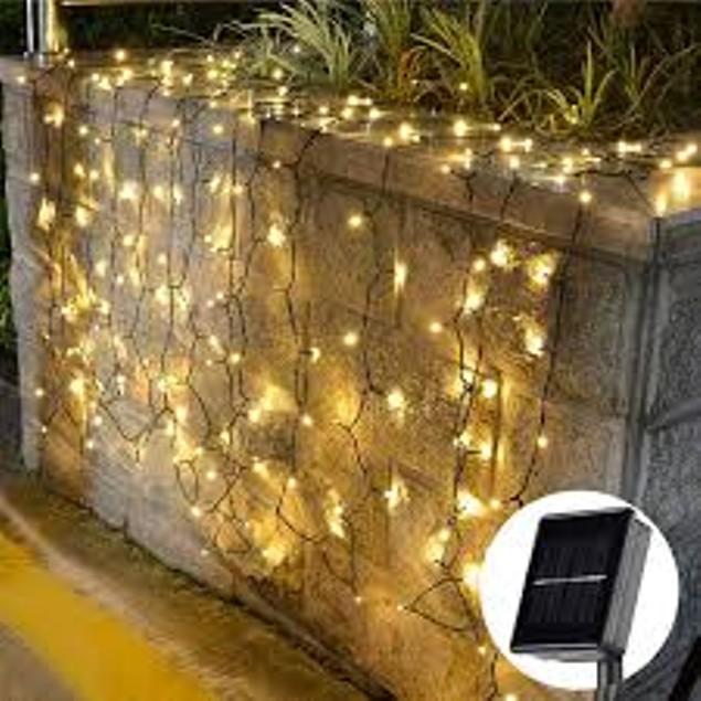 LED Solar String Lights - 72 Feet - 200 LED Lights