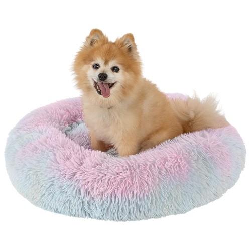 Fluffy Luxurious Orthopedic Donut Dog Bed