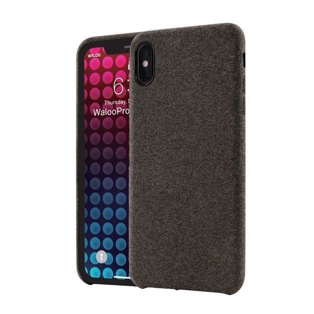Waloo Slim Fabric Case For iPhone XS, XR, XS Max