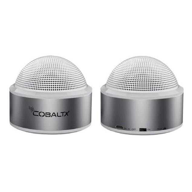 Set of 2 - Cobalt TWS Speakers Portable Bluetooth Mini Stereo Speaker