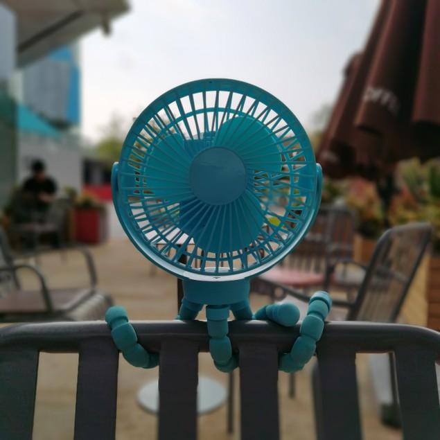 The Octopus – Adjustable Arm Fan- 2 Colors