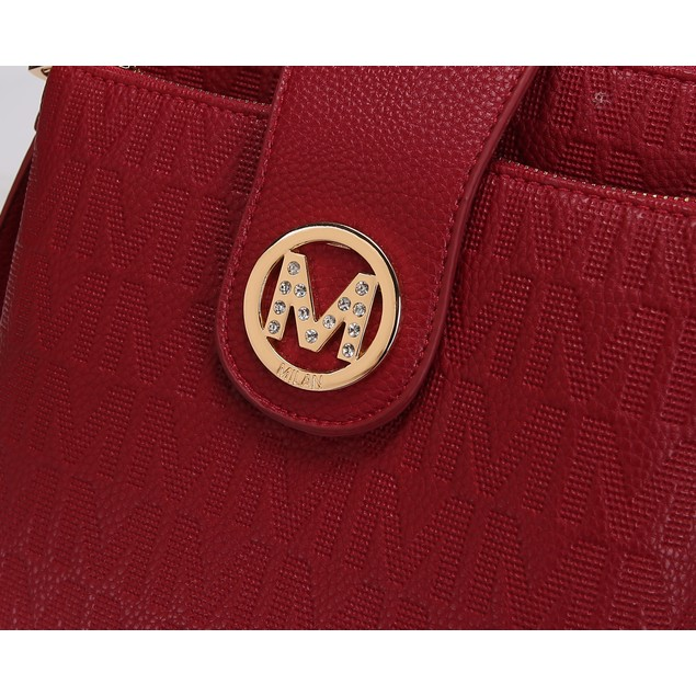 MKF Collection Marietta M Signature Crossbody Bag by Mia K.