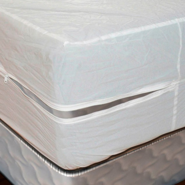 Durable Vinyl Zippered Mattress Protector
