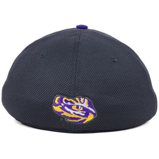 "LSU Tigers NCAA Nike Legacy 91 ""Conference"" Swoosh Flex Fitted Hat"