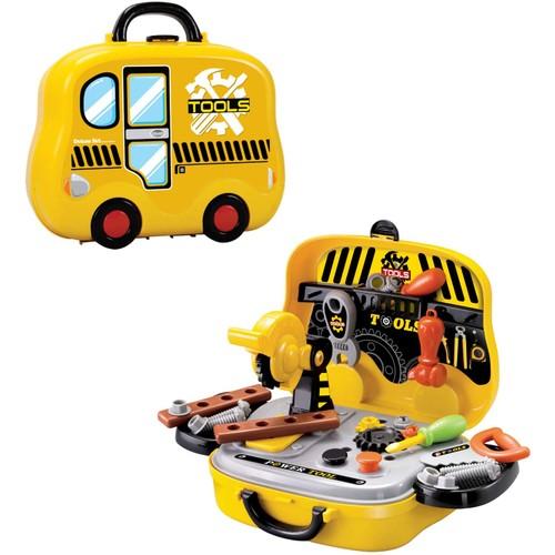 Pretend Tool Set Screwdrivers, Hammer, Wrench, Screws & More